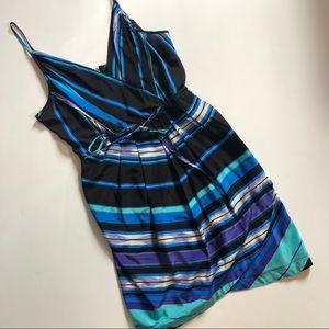 Yumi Kim silk wrap tank dress